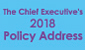 The Chief Executive's Policy Address 2018